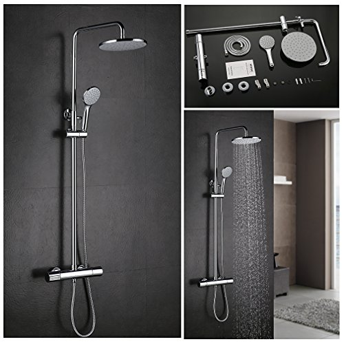 kinse modernes set dusche mischbatterie dusche wasserfall des systems der duschk pfe dusche. Black Bedroom Furniture Sets. Home Design Ideas