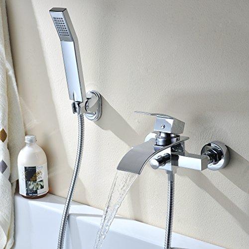 Badewannenarmaturen  KINSE® WannenArmatur Badewannenarmaturen Badewanne Wannenbatterie ...