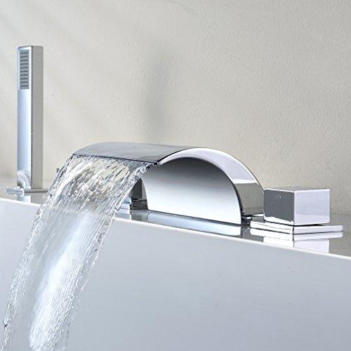 Kinse Zeitgenossig 5 Locher Montage Duschsystem Brauseset