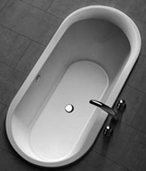 Ovale Badewanne | Badewanne 180x85 cm
