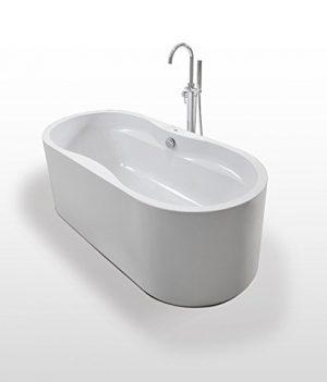 Badewanne freistehend | 170x80x60 cm Badewanne