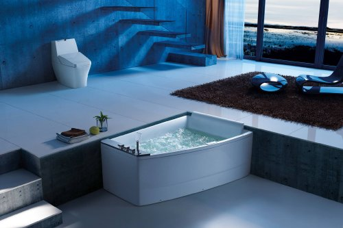 neu luxus whirlwanne canvas whirlwanne badewanne wanne wasserfall 2 personen. Black Bedroom Furniture Sets. Home Design Ideas