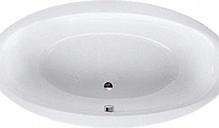 190x100x47 cm Ovale Badewanne
