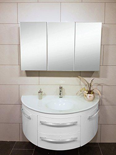 Sam 2tlg Montagsbad Badmobel Set 120 Cm 2 Wahl Designer Badset