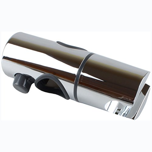 sanixa dusch stange mit verstellbarer halterung brausehalter und seifenablage duschschlauch und. Black Bedroom Furniture Sets. Home Design Ideas