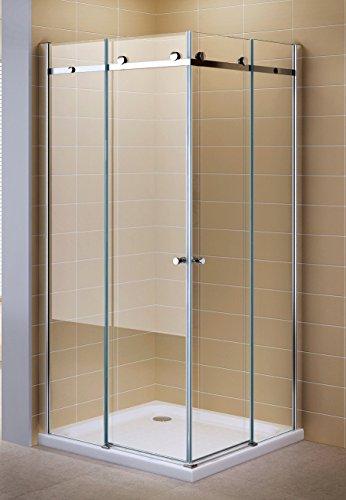 Dusche mit Schiebetür | Eckdusche | Duschkabiene eckig |