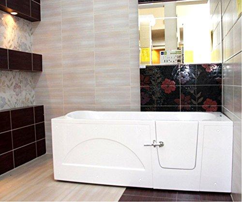 senioren sitzbadewanne impression 160x76 cm rechts sitzbadewanne seniorenbadewanne sitzwanne. Black Bedroom Furniture Sets. Home Design Ideas