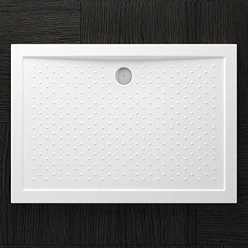 tbh 90x120x4cm design duschtasse lucia04ar mit anti rutsch profi inkl ablaufgarnitur al02 in. Black Bedroom Furniture Sets. Home Design Ideas
