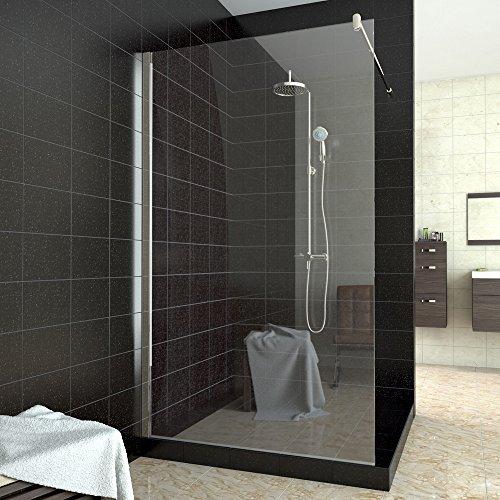 walk in dusche duschabtrennung duschwand klarglas 100 140x200cm. Black Bedroom Furniture Sets. Home Design Ideas