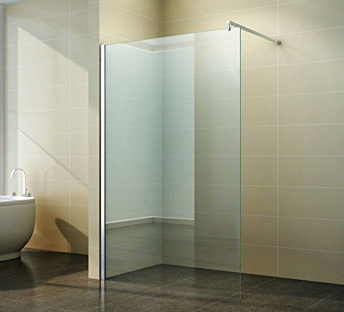Walk in Duschabtrennung | Klarglas | Duschwand | Dusche Glas ...