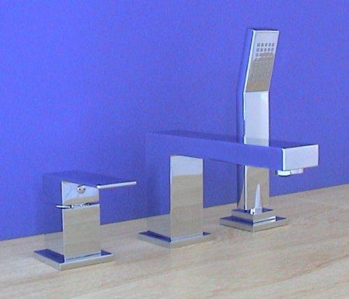 welfenstein 3 loch wannenrandarmatur wra 75 armatur f r badewanne wannenrand. Black Bedroom Furniture Sets. Home Design Ideas