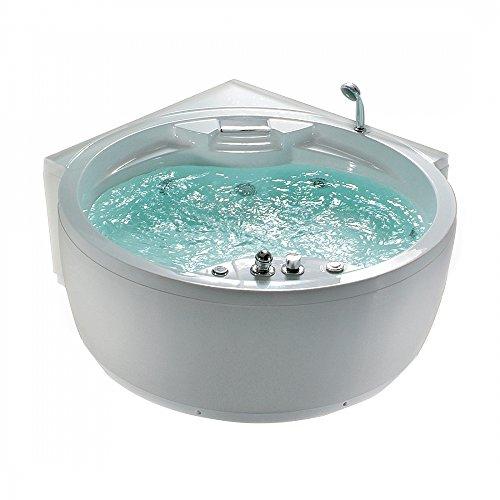 whirlpool badewanne rund spa indoor jacuzzi sprudelbad milano. Black Bedroom Furniture Sets. Home Design Ideas