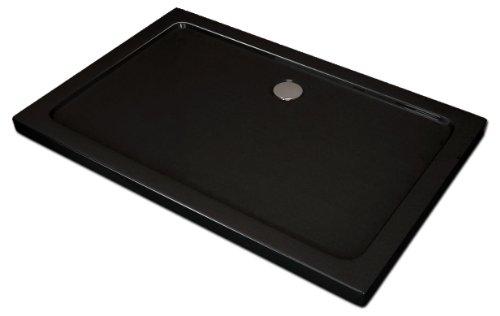 Duschtasse 120x90 cm | Duschwanne 120x90 cm  | schwarze Duschtasse | schwanne schwarz