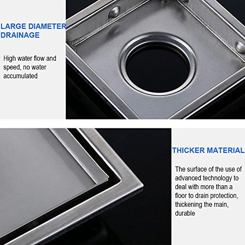 artbath bodenablauf edelstahl duschrinne duschablauf f r badezimmer oder k che 15cm. Black Bedroom Furniture Sets. Home Design Ideas