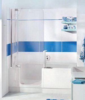 Badewanne mit Dusche , 2.in1 Badewanne und Dusche | Badewanne 180x180 cm
