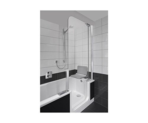 Badewanne mit Tür | Badewanne 160x5 cm | Badewanne zum leichten einsteigen | Seniorenbadewanne