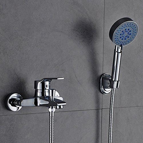 Auralum Elegant Zeitgenössische Armatur Wasserfall Badewanne