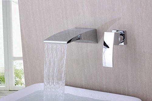 Badewannen Armatur Messing |  Badewannen Armatur Wasserfall | Chrom Badewannenarmatur