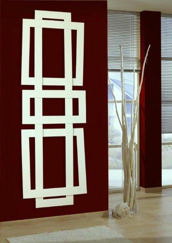 Badheizk rper design art ii hxb 180 x 60 cm 1019 watt for Design heizkorper wohnraum