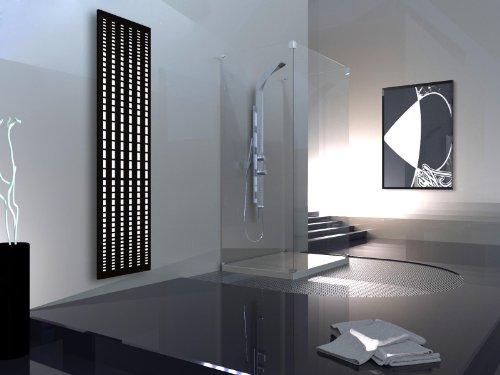 moderne heizkoerper wohnraum bad, badheizkörper design broken mirror 3, hxb: 180 x 47 cm, 1118 watt, Design ideen