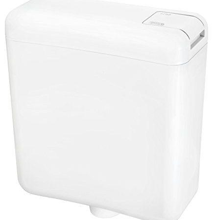 spülkasten mit 69 Liter | Spülkasten mit Start -Stop Funktion | 69 liter weißer spülkasten