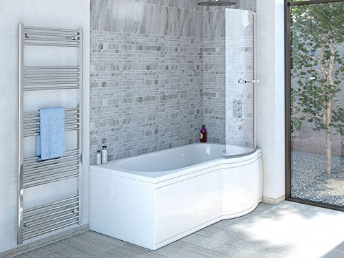 170x85 cm Badewanne mit Dusche | Badewanne mit Dusche