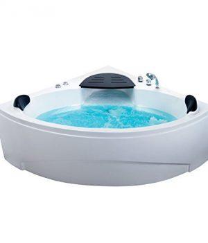 Badmöbel, Design Whirlpool Badewanne , Eckbadewanne mit Whirlpool
