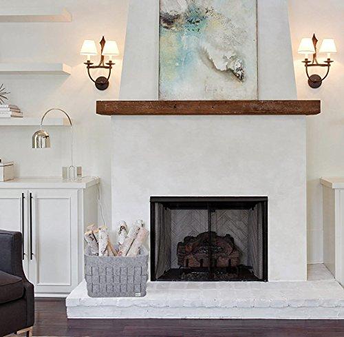 filzkorb aufbewahrungsk rbe grau f r die aufbewahrung von. Black Bedroom Furniture Sets. Home Design Ideas