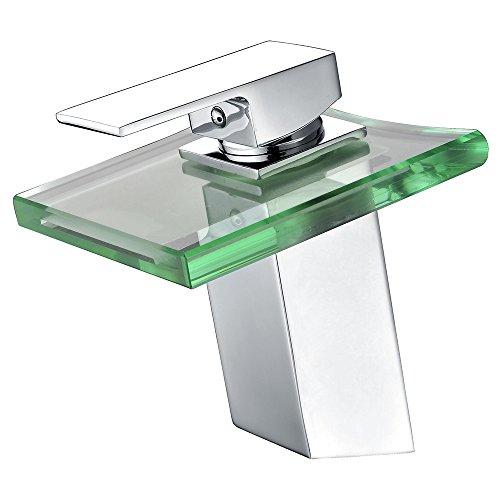 Glas Wasserhahn , Wasserhahn für Waschbecken aus Glas
