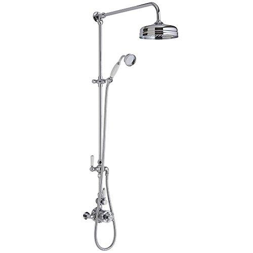 Duschsystem | Duschegarnitur mit 2 Brauseköpfe | Duschsysteme mit 2 Duschköpfe