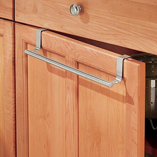 interdesign 67020eu forma handtuchhalter zum h ngen ber die schrankt r 36 cm edelstahl. Black Bedroom Furniture Sets. Home Design Ideas