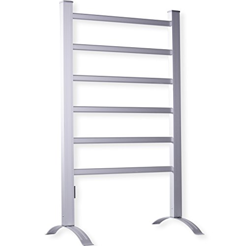 kesser elektrischer aluminium handtuchw rmer heizung standheizung sprossen. Black Bedroom Furniture Sets. Home Design Ideas