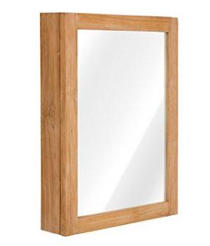 Holz Badschrank | Spiegelschrank | Badmöbel Spiegelschrank
