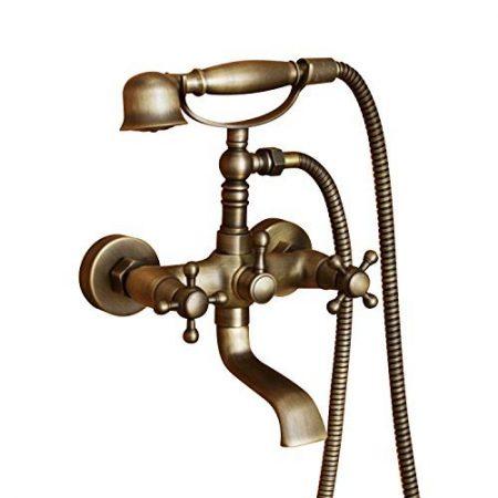Messing Badewane Wasserhanh   Handbrause Messing   Badezimmer Armatur