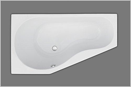 160x90x43 cm Badewanne | Raumsparbadewanne