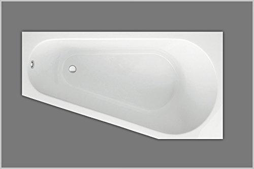 Raumsparbadewanne | Badewanne 170x80x46 cm
