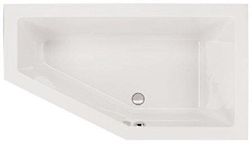 Acryl Badewanne | Badewane 160x90x49 cm | Acryl Badewanne 160x90x49 cm | weiße Badewanne