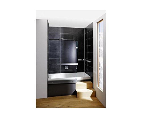 repabad stairway dusch badewanne 170 nische mit glaswand wannentr ger kombiwanne mit rotaplex. Black Bedroom Furniture Sets. Home Design Ideas