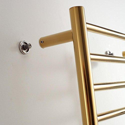 rundrohr der wand befestigter edelstahl elektrischer. Black Bedroom Furniture Sets. Home Design Ideas