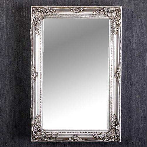 spiegelschrank beatrice badezimmer schrank silber landhaus badschrank barock. Black Bedroom Furniture Sets. Home Design Ideas