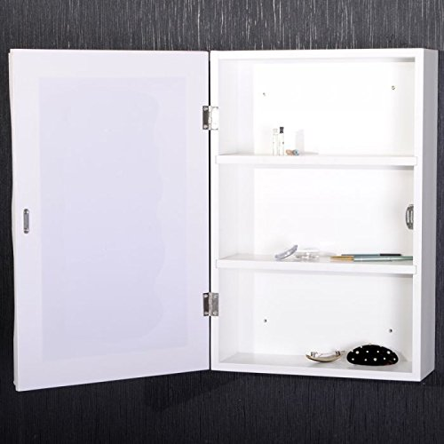 spiegelschrank beatrice 60x40cm badezimmer schrank weiss badschrank landhaus. Black Bedroom Furniture Sets. Home Design Ideas