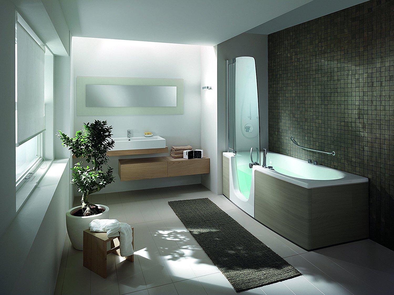 teuco duschbadewanne 382 t re links mit wanneneinlauf 160 x 70 cm. Black Bedroom Furniture Sets. Home Design Ideas