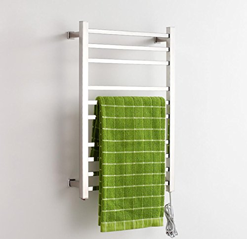 wand befestigter edelstahl elektrischer badheizk rper. Black Bedroom Furniture Sets. Home Design Ideas