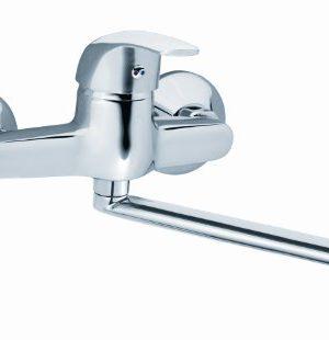 Einhandmischer Wandarmatur , Badarmatur , Badezimmerarmatur