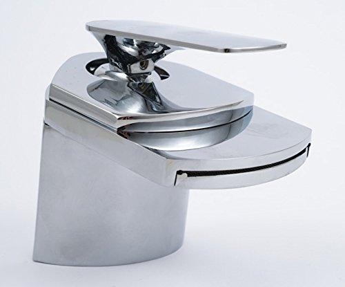 Einhandmischer | Waschbecken Armatur mit breitem Wasser Auslauf