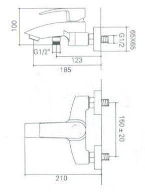 welfenstein wannenarmatur wa ya aufputz mischer armatur f r badewannen. Black Bedroom Furniture Sets. Home Design Ideas