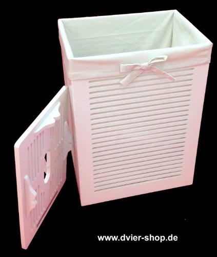 w schekorb laundry holz weiss 40x30 mhzwk 08wrt. Black Bedroom Furniture Sets. Home Design Ideas