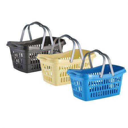 Multi Korb Haushaltskorb Wäschekorb Einkaufskorb Aufbewahrungskorb Tragekorb
