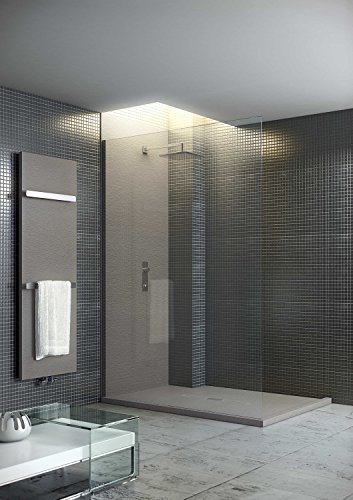 Begehbare Dusche Mit Duschrinne 140x90 Aus Mineralguss Bodenebene