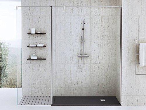 100x70 cm Dusche | begehbare Dusche | bodengleiche Dusche